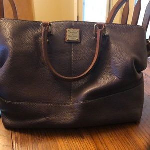 Genuine leather Dooney and Bourke large satchel